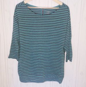 Ann Taylor Loft Striped Blouse
